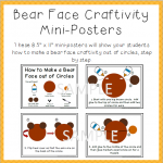 Bear Printables in the Teacher Stores