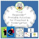 Firefighter and Police Office Printables in the Teacher Stores