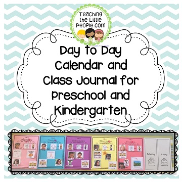 Day to Day Calendar Thumbnails cover page