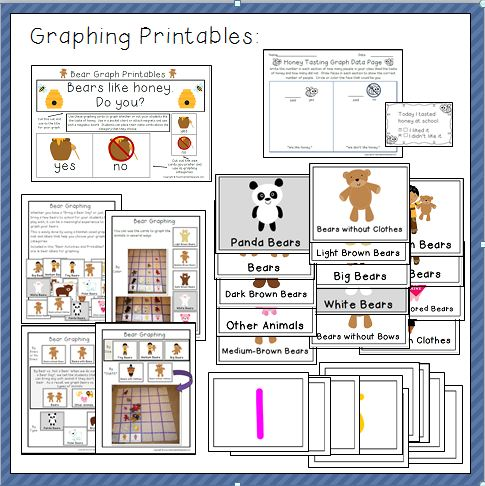 Bear Printables and Activites Thumbnail Three