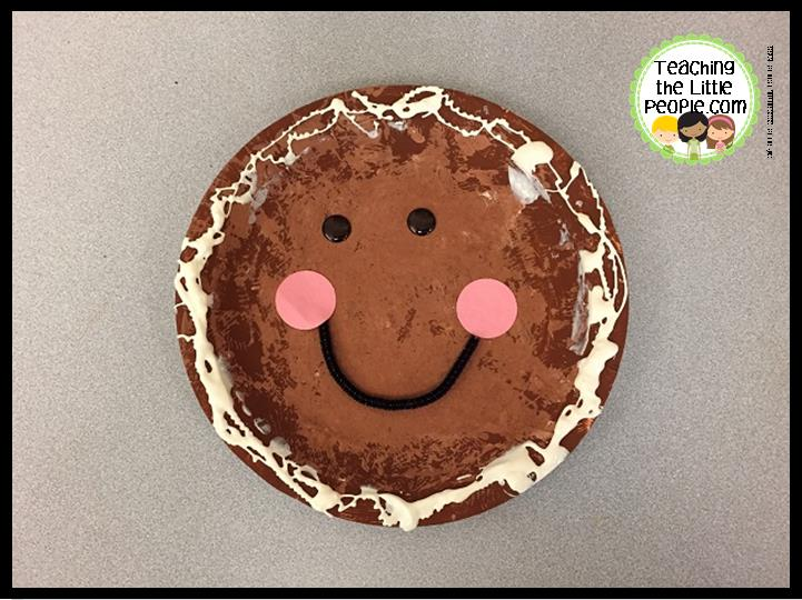 Paper Plate Gingerbread People From Pinterest & Paper Plate People - Castrophotos