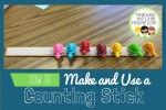 counting sticks :: teachingthelittlepeople.com