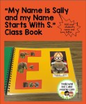 My Name Starts With...Class book: teachingthelittlepeople.com