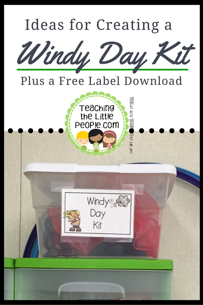 Windy Day Kit Idea Plus Free Label Download