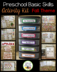 Preschool Basic Skills Activity Kit Fall
