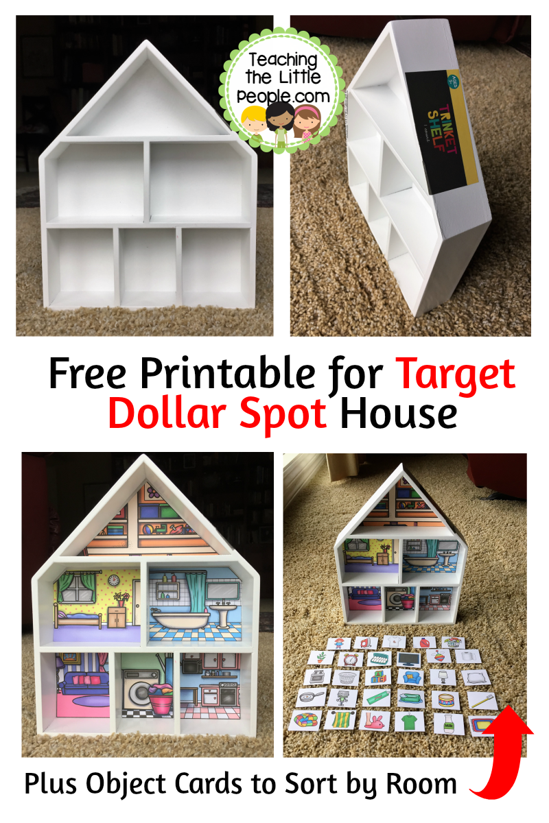 photo relating to Printable House titled Totally free Printable for Focus Greenback Desired destination Home::Training The